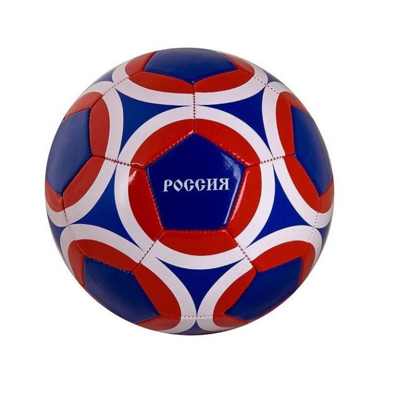 Мяч  T88632  Футбольный, 280/300гр.,№5 ,PVC. глянец 1слой Россия