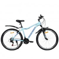 Велосипед 27,5  AVENGER C275W-GN/PR-17.5(21), зелёный/фиолетовый