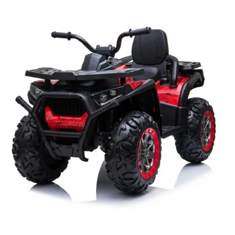 Электроквадроцикл детский 47064 (Р) красный спайдер