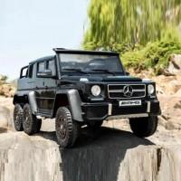 Электромобиль детский Mercedes-Benz G63-AMG 4WD  45475 (Р) шестиколесный черный глянец