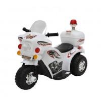 Электромотоцикл детский TR 991 белая  6v.4Ah  82*37*53