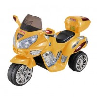 Электромотоцикл детский 34070 желтый  121*49*72