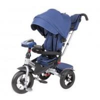 Детский 3-х колёсный велосипед TT Luxury синий 1/1(P)