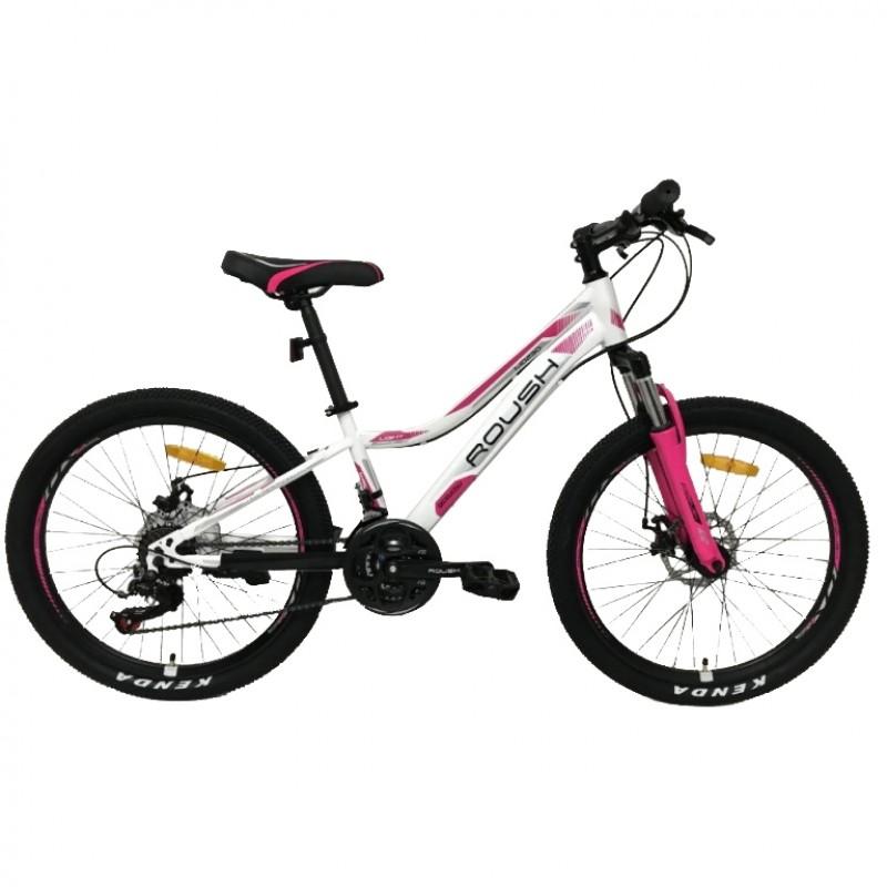 Велосипед 26 Roush 26MD230-1 бело-розовый