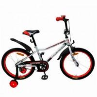 Велосипед 20  AVENGER SUPER STAR, серый/красный