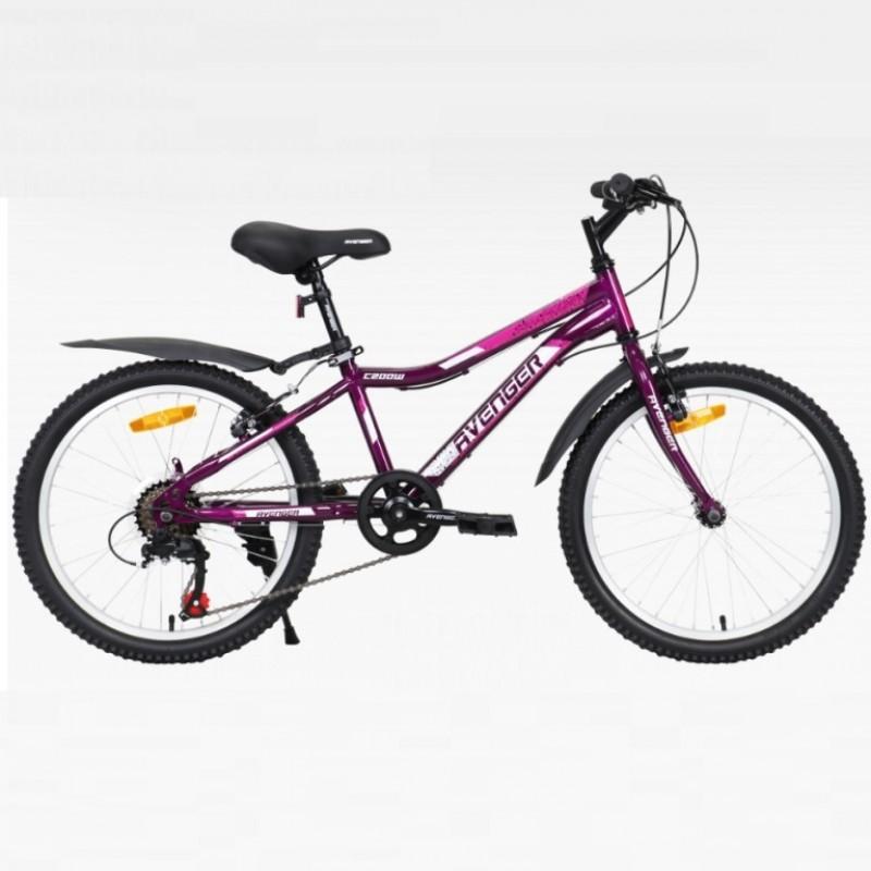 Велосипед 20 Avenger C200W-PR-11(21) фиолетовый