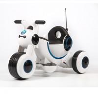 Электромотоцикл детский Y-MAXI  45565 (Р) белый, глянцевый