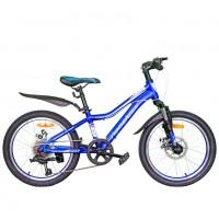 Велосипед 20 Nameless J2200D-BL/WT-11(21), 11