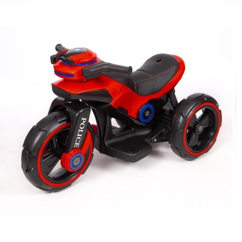 Электромотоцикл детский Y- MAXI Police 45562 (Р) красный