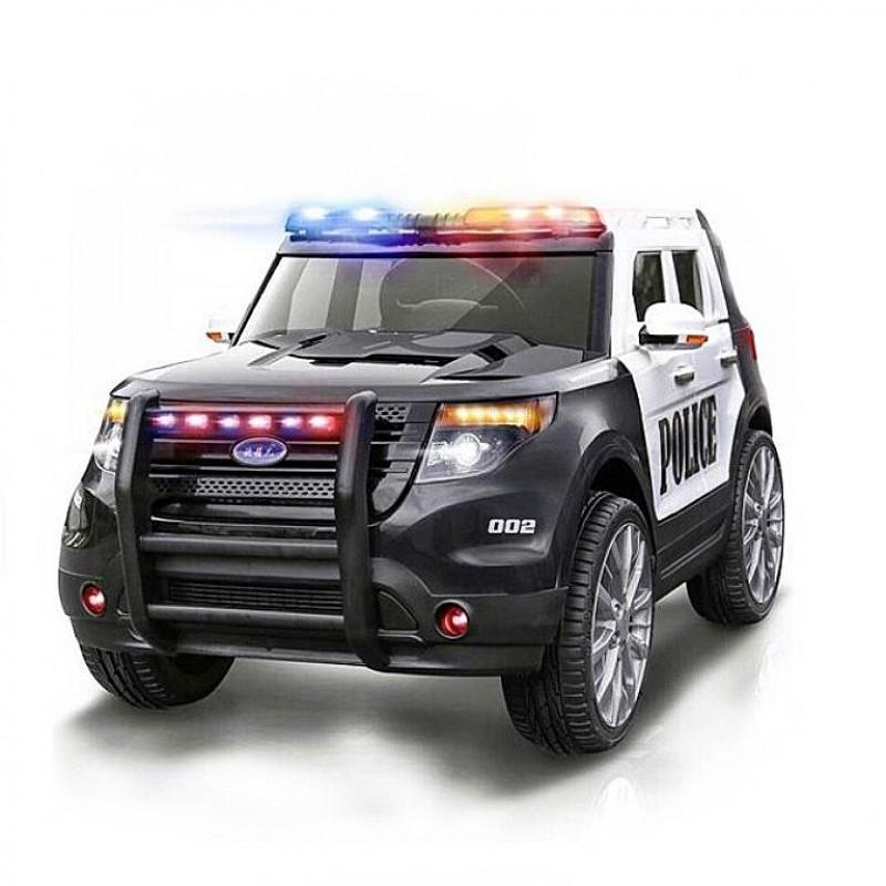 Электромобиль детский Ford ПОЛИЦИЯ 45446 (Р) черно - белый