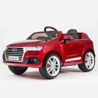 Электромобиль детский Audi Q7 45418 (Р) вишневый  глянцевый