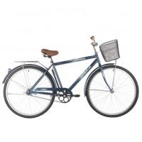 Велосипед 28 Foxx  SHC.FUSION.20BL1 синий+дор. корзина