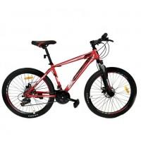 Горный велосипед 26 Roush 26MD210-2 красный матовый