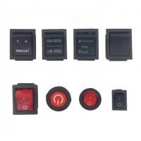 Кнопки для электромобилей (разные)