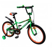 Велосипед 16  AVENGER SUPER STAR, C16S-GN/BK зелёный/чёрный