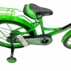 Велосипед 20 OSCAR TURBO Black-GREEN (черный/зеленый)  АКЦИЯ!!! 2021