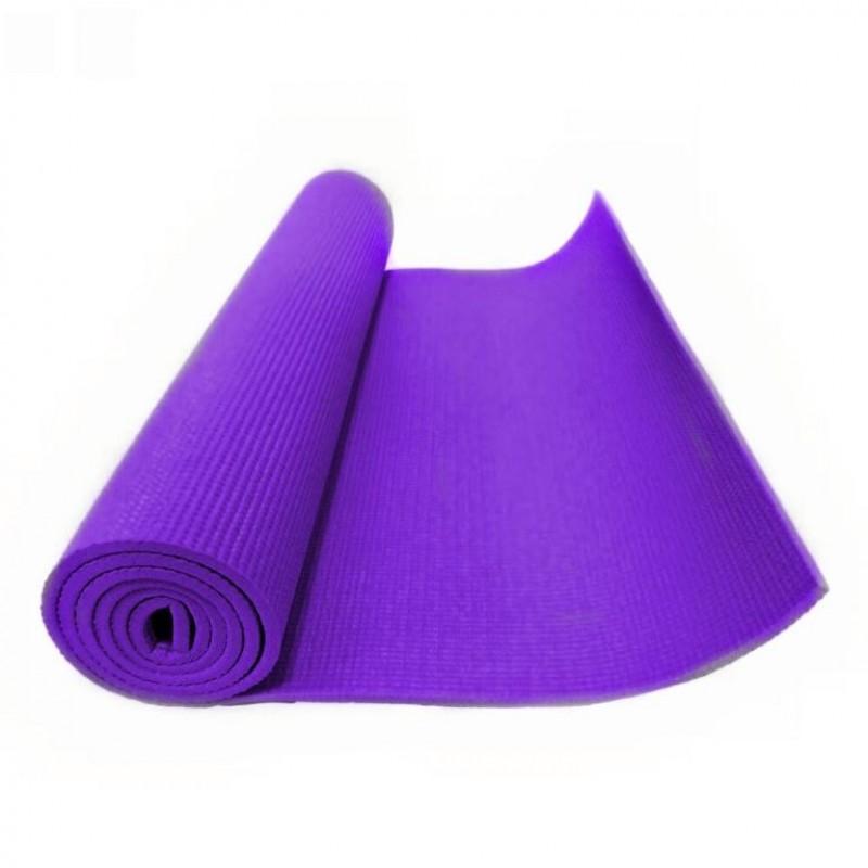 Коврик для фитнеса (йога) фиолетовый 5мм