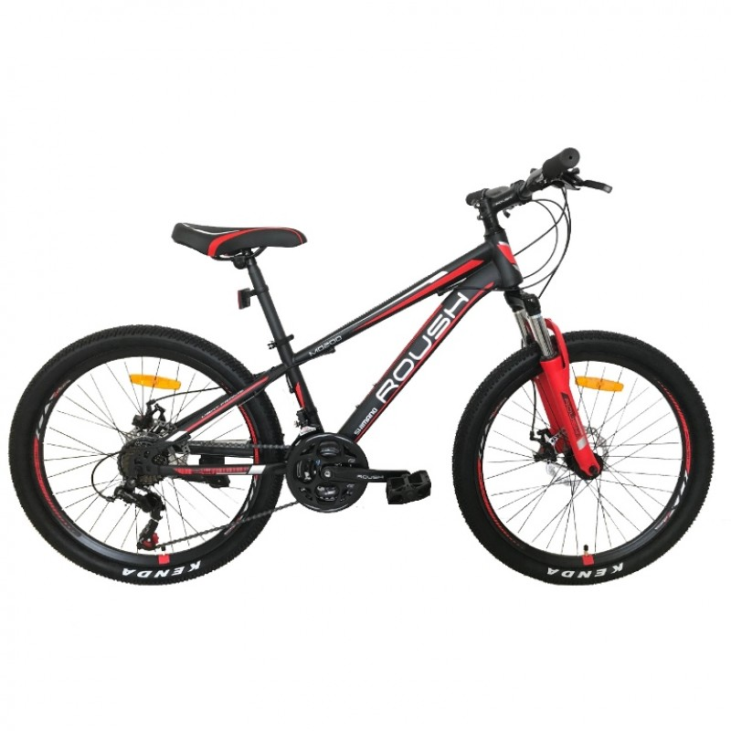 Горный велосипед 24 Roush 24MD200-2 красный матовый
