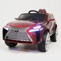 Электромобиль детский Lexus 48540 вишневый