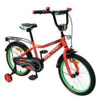 Велосипед 16 OSCAR TURBO красный/зелёный  АКЦИЯ!!!