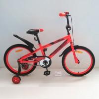 Велосипед 14 Nameless Sport красный/чёрный