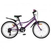 Велосипед 20 Novatrack SH6V.Alice.VL9   фиолетовый