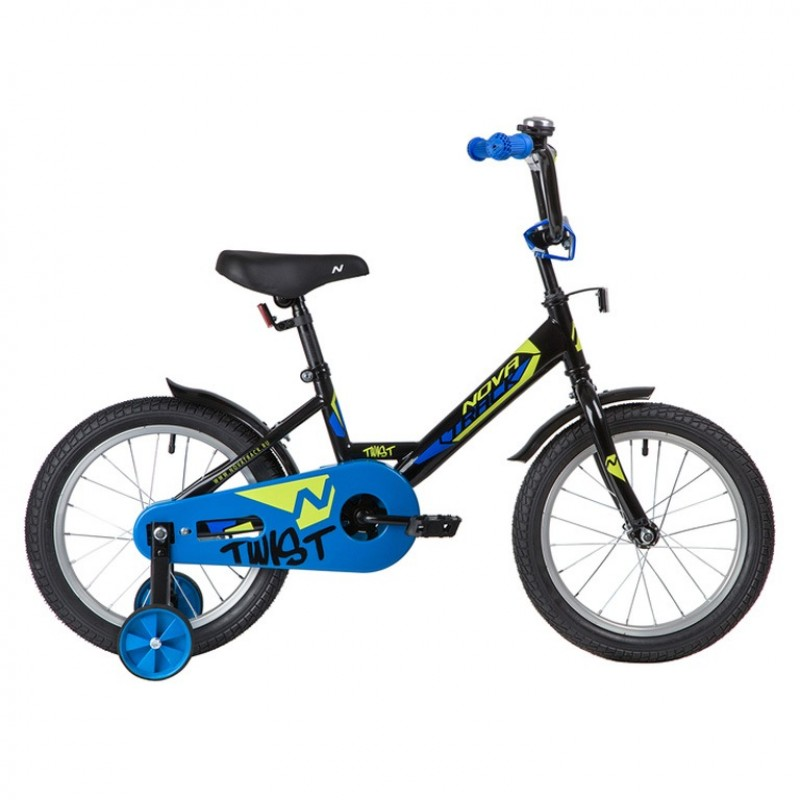 Велосипед 14 Novatrack Twist.BK20 черный  АКЦИЯ!!!