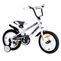 Велосипед 14 Nameless Sport, белый/черный