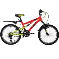Велосипед 20 Novatrack SS12V.TITANIUM.RD20   12 ск.SHIMANO + аморт красный