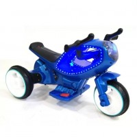 Электромотоцикл детский 45092 синий