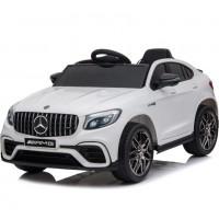Электромобиль детский  Mercedes-Benz AMG GLC63 Coupe S, QLS-5688 50528 (Р) полный привод белый