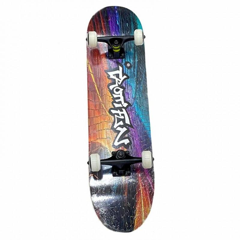 Скейтборд  Explore Ecoline GRINDER/6 деревянный Граффити