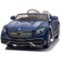 Электромобиль детский Mercedes-Maybach S650 Cabriolet ZB188,  50522 (Р) полный привод, синий, глянец