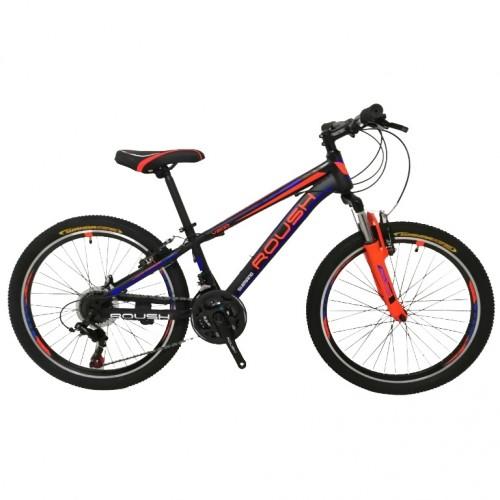 Горный велосипед 26 Roush 26MD200-3 красный/синий матовый