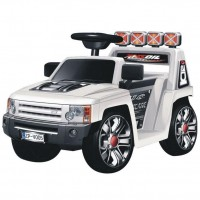 Электромобиль детский Land Rover 45524 (Р)  белый, глянцевый