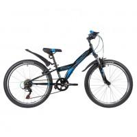 Велосипед 24 Novatrack SH6SV.RACER.12BK9   6ск черный