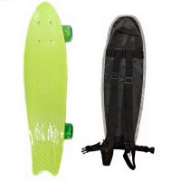 Скейтборд  ТТ Fishboard 23 light green 1/4 TLS-406