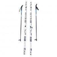 Лыжный комплект STC 75мм 150см (4)+палки+креп. STEP