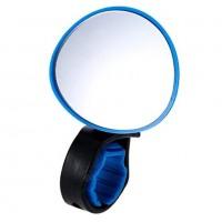 Зеркало X95410 BC-BM101 синее с силиконовым крепежом на руль, рег. угла