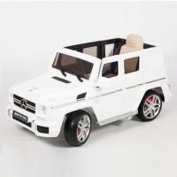 Электромобиль детский Mercedes-Benz G63 AMG 45471 (Р) белый