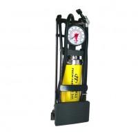 Насос FP-9802A  ножной с манометром 5.5*12см