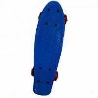 Скейтборд  636244  41*12см  , пластик, без света с пластмассовым креплением ,PVC