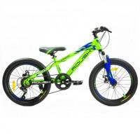 Велосипед 20 Roush 20MD200-3 цвет: зелёный матовый