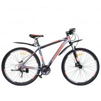 Велосипед 29 Nameless G9700DH-GR/OR-19(21), серый/оранжевый