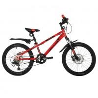 Велосипед 20 Novatrack SH6D.EXTREME.RD21 6 скоростей красный