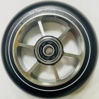 Колесо 100мм X-Treme  для самоката,форма 6RT серый