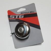 Звонок X8417 для велосипеда  сереб.